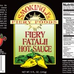 Fiery Fatalii Hot Sauce