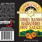 Smoky Mango Habanero Hot Sauce