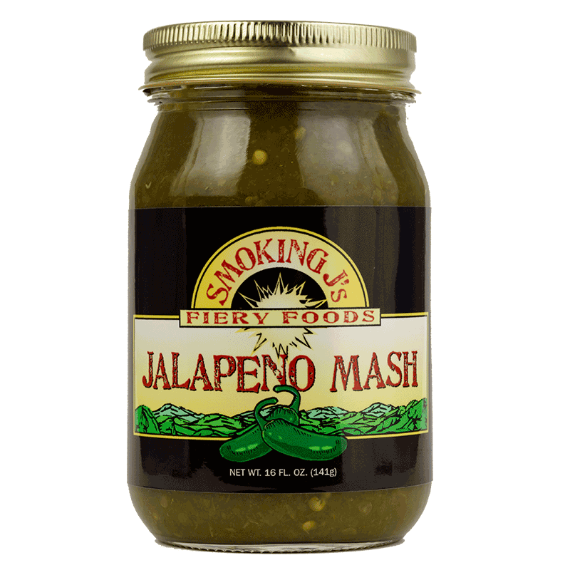 16 oz Jalapeno Pepper Mash