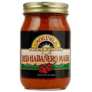 16 oz. Red Habanero Pepper Mash