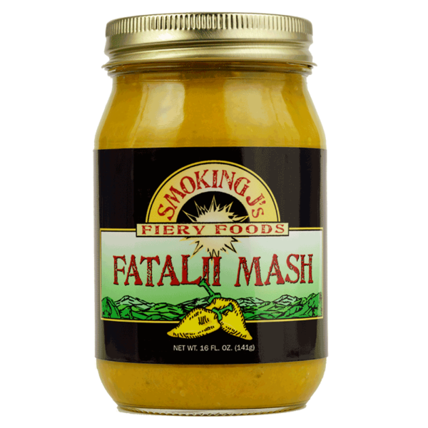 16 oz. Fatalii Pepper Mash