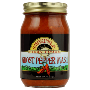 16 oz. Ghost Pepper Mash