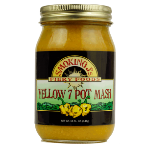 16 oz. Yellow 7 Pot Pepper Mash