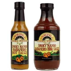 Bundle - Smoky Mango Habanero BBQ & Hot Sauce