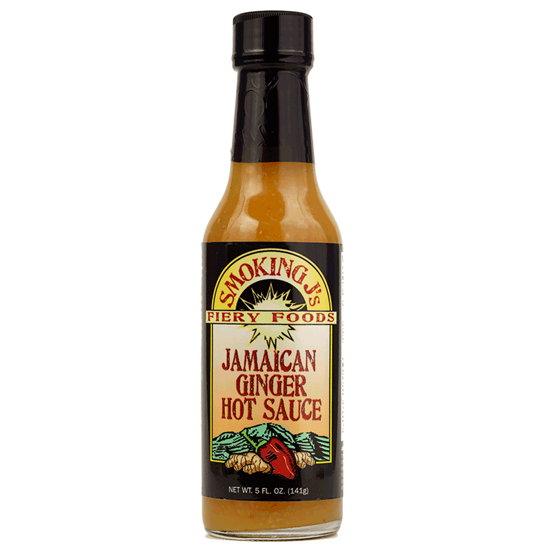 Jamaican Ginger Hot Sauce