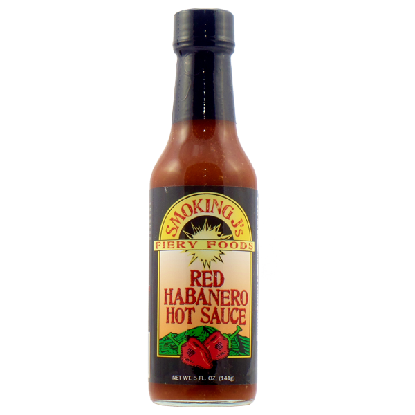 Red Habanero Hot Sauce
