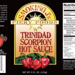 Trinidad Scorpion Hot Sauce-Label